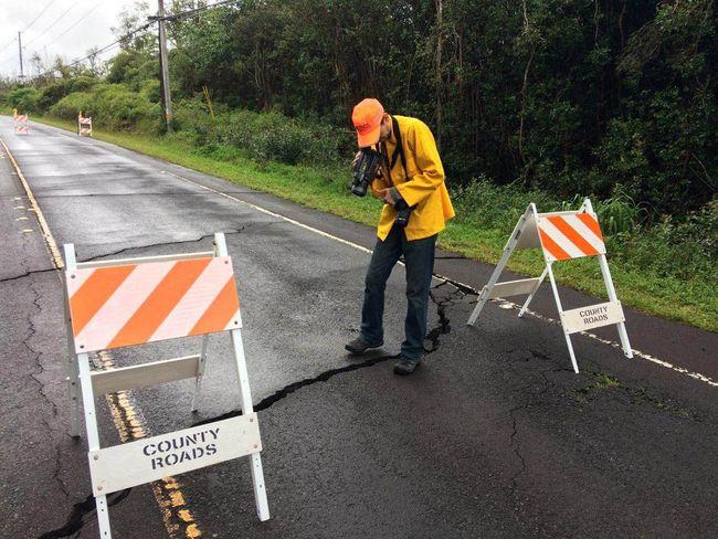 Гавайский Национальный парк закрывается из-за извержения вулкана Килауэа