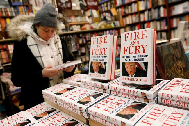 Автор книги оТрампе может заработать наней $7,4 млн