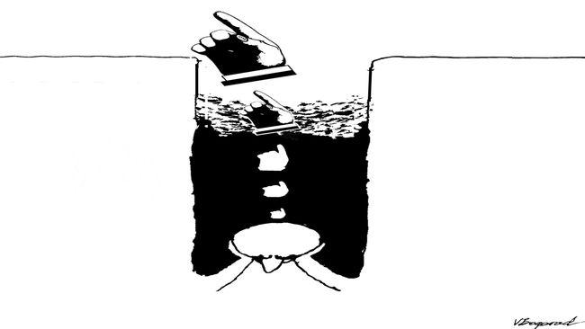 Путь философии здравого смысла Газета День  РИСУНОК ВИКТОРА БОГОРАДА