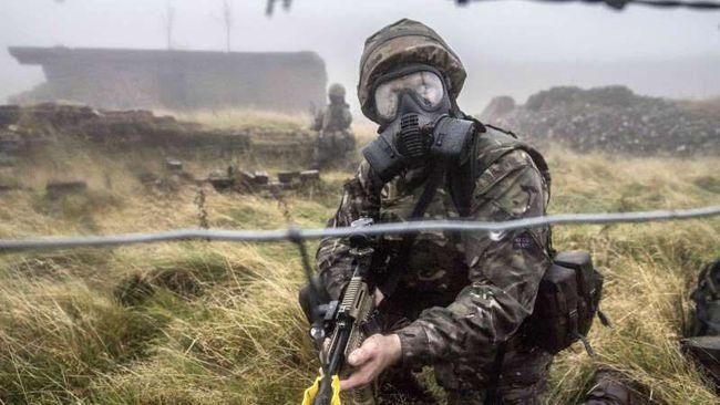 Украинские военные завоевали «серебро» на интернациональных соревнованиях спецназа