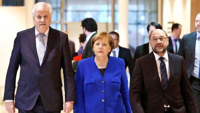 СДПГ начинает переговоры сконсерваторами окоалиции