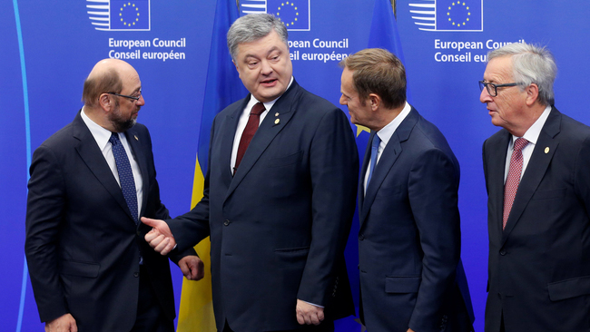 Туск выступил насаммите по-украински: впечатлен реформами вгосударстве Украина