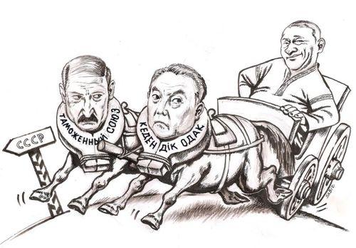 Лукашенко и Назарбаев пожаловались на ТС: Россия создает торговые ограничения - Цензор.НЕТ 1302