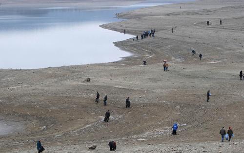Межгорное водохранилище на карте Крыма, фото и