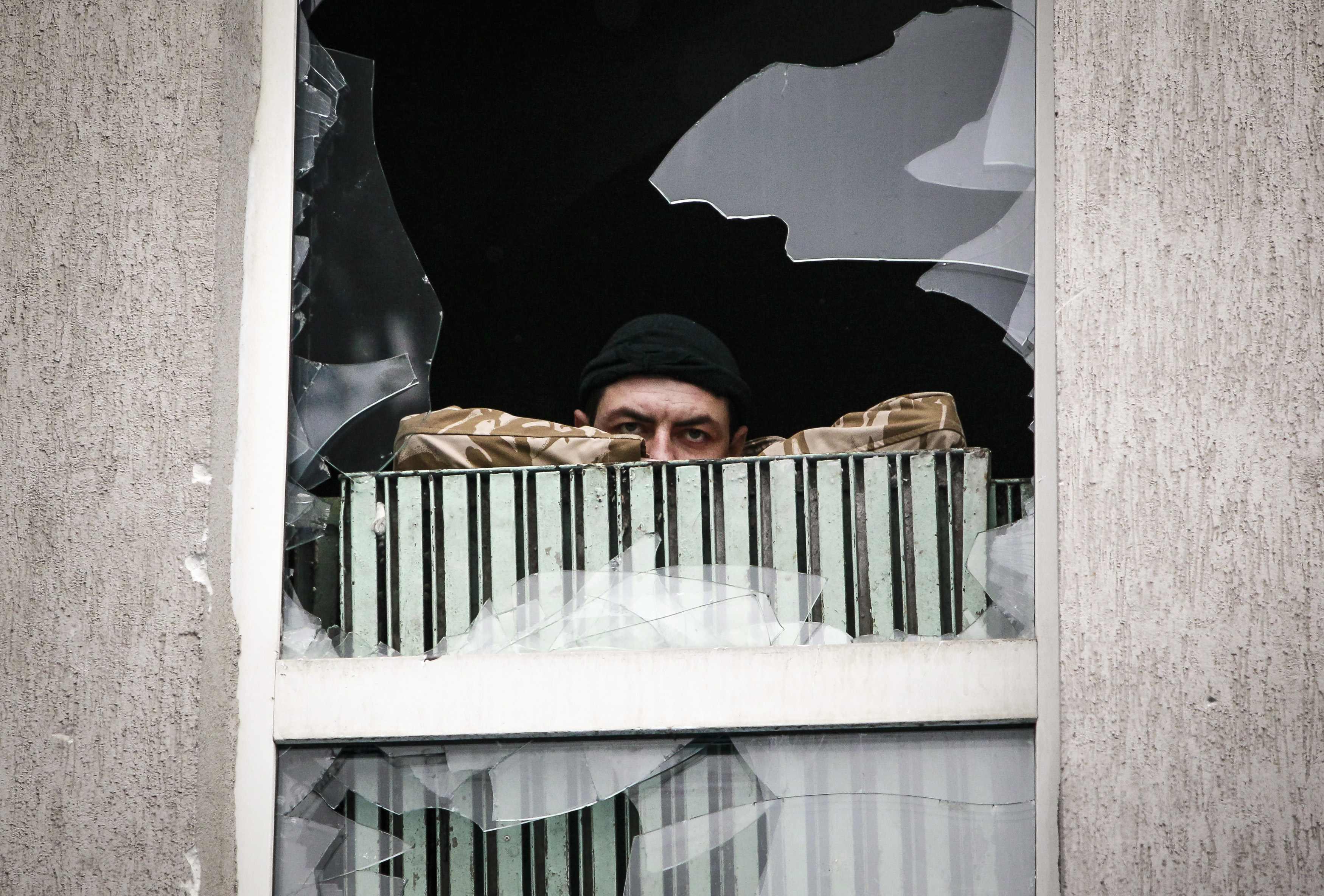 Оголений Луганськ