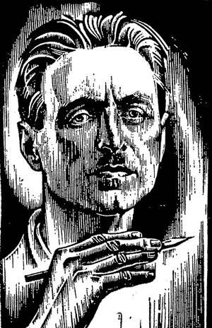 гравюра портрет: