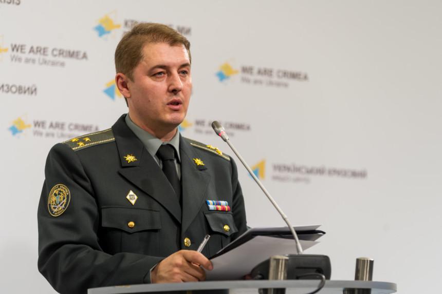 Речник АТО: заминулу добу насході України військові непостраждали