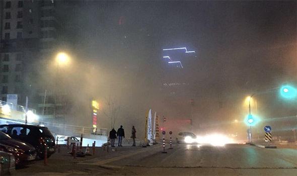 ВАнкарі прогримів вибух: перші фото і відео з місця події