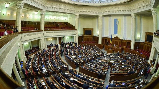 ВР отдала голос за распоряжение сименами украинских узников Кремля