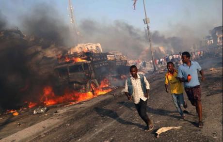 ВСомали террористы атаковали базу миротворцев