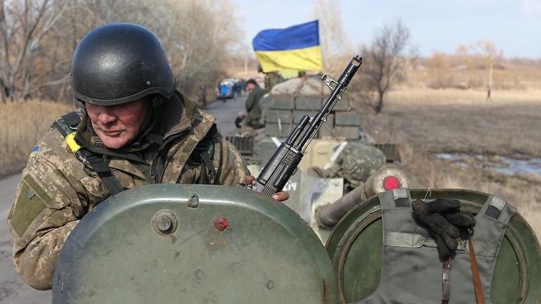 НаЛуганщині відбулося розведення військ