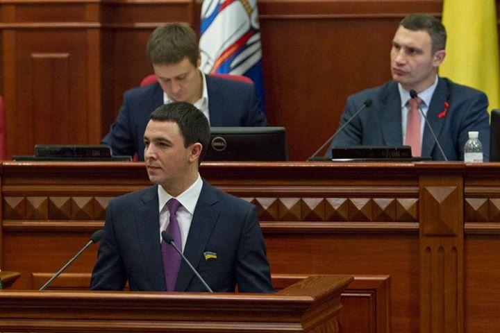 Секретарем Київради став екс-голова земельної комісії