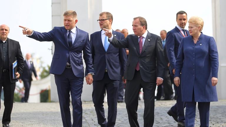 Страны Вышеградской группы приняли декларацию обудущем европейского союза