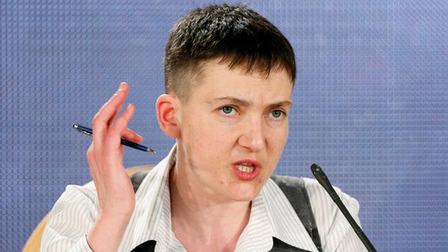 Савченко назвала выродками военное командование Украинского государства