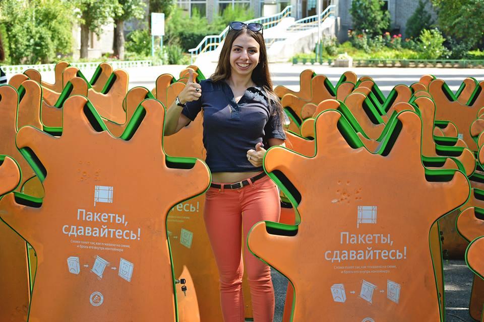 В Николаеве все школы ввели раздельный сбор мусора