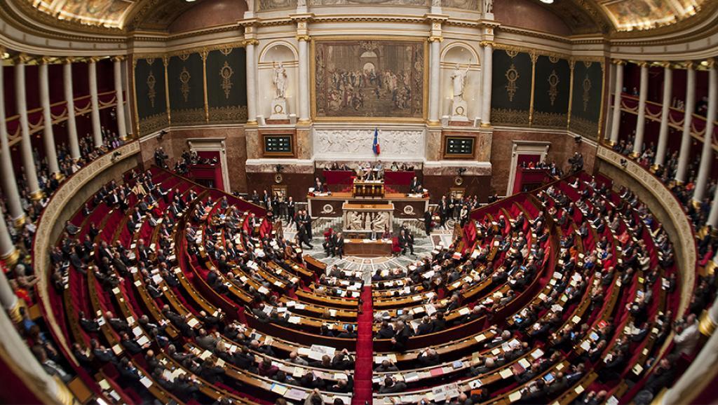 Национальное собрание Франции приняло закон оборьбе стерроризмом
