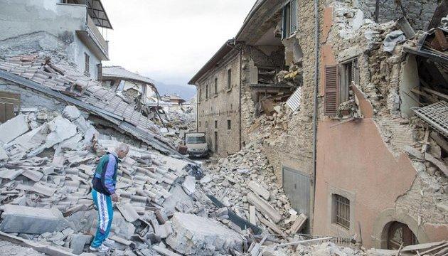 ВИталии случилось землетрясение магнитудой 4,8