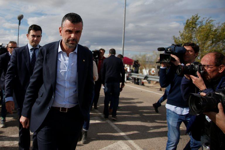 Экс-министр Каталонии внес €50 тыс. засвою свободу