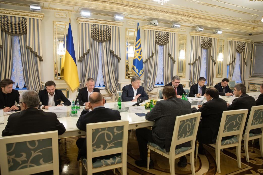 Порошенко: Украинское кино нуждается в национальной помощи