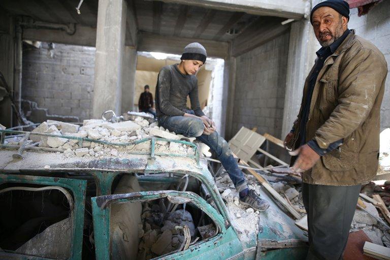 ООН: вВосточной Гуте погибли 600 человек задве недели