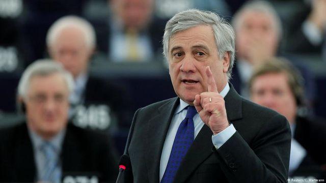 Руководитель Европарламента Таяни поддерживает создание единой армииЕС