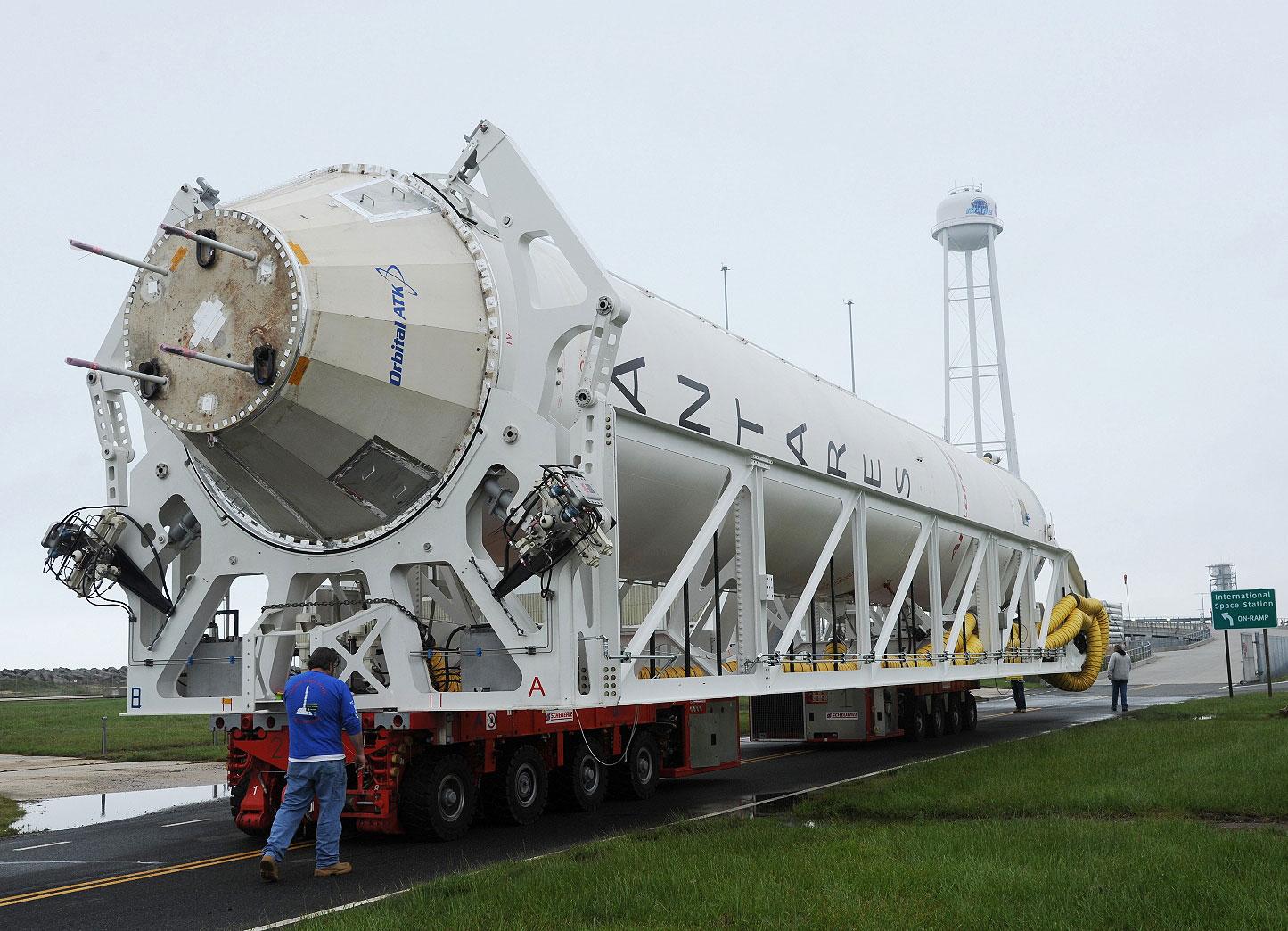 NASA запустит вкосмос ракету произведенную сучастием Украины