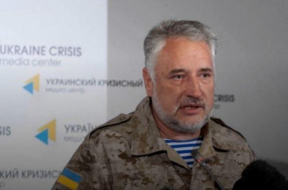 Жебрівський вказав на місця, денаДонбасі дислокуються російські війська