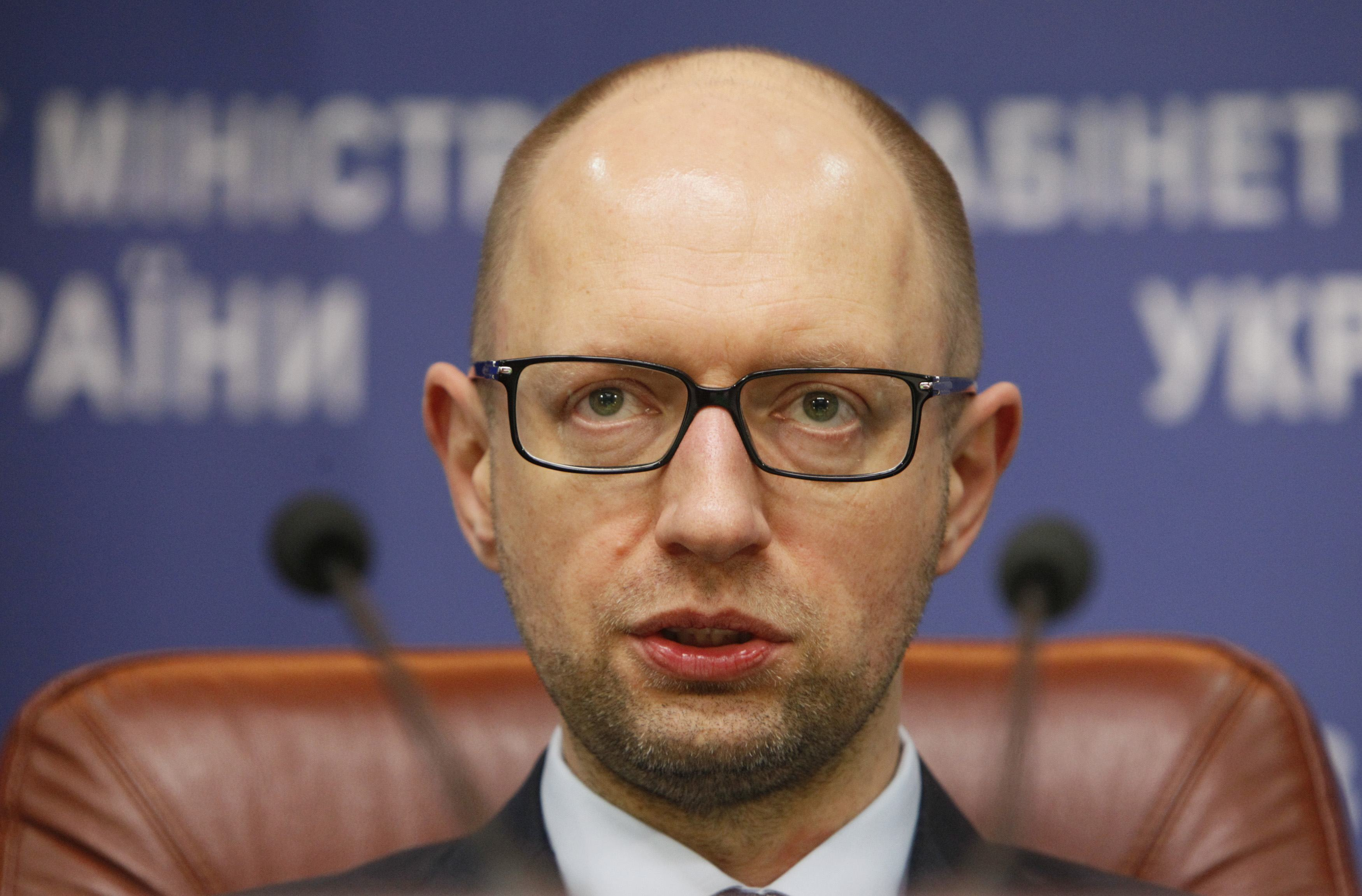 Яценюк: Уряд планує залучити револьверний кредит ЄС назакупівлю газу