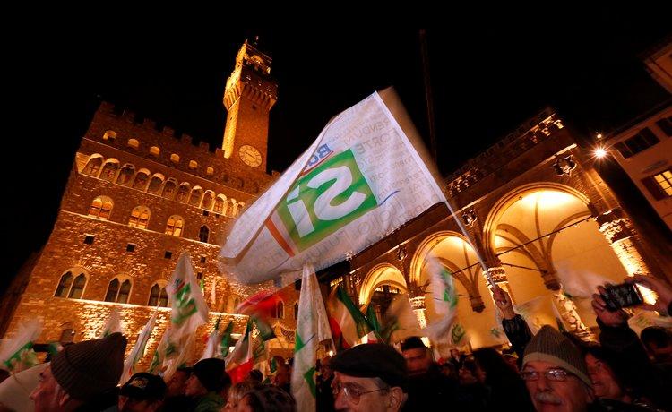 ВИталии начался референдум поконституционной реформе