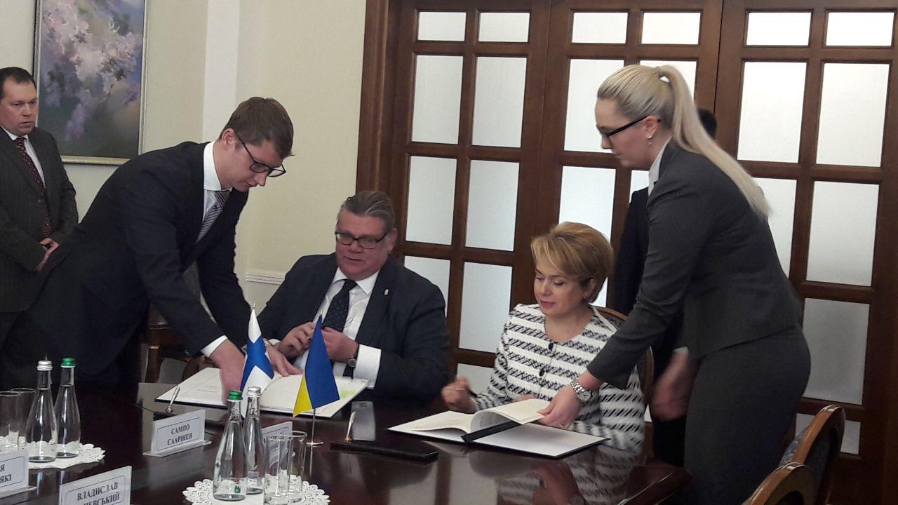 Финляндия дает на реформу украинской школы €6 миллионов