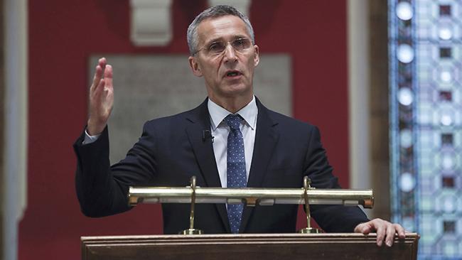 Столтенберг: НАТО нацелен наконструктивные отношения сМосквой