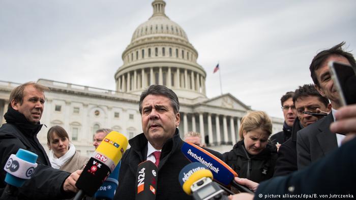 МИД ФРГ сразил мир шумным заявлением против США иза РФ