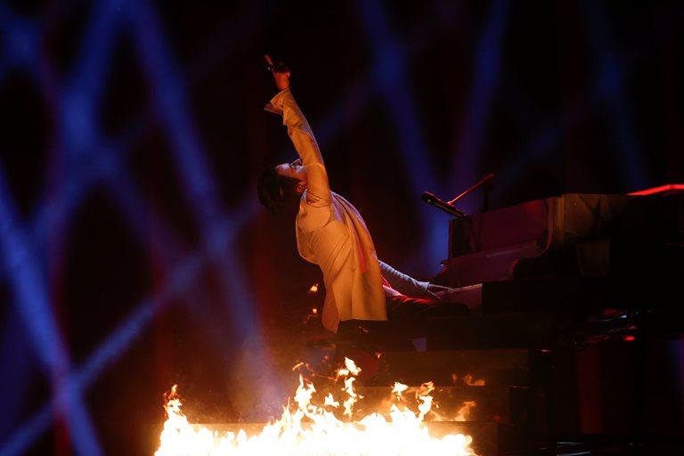Євробачення 2018: Melovin ефектно відкрив церемонію