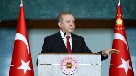 Эрдоган: Турция продолжит военные операции вИраке иСирии