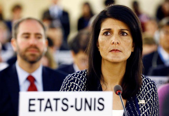 Гейлі: США можуть вийти зРади ООН зправ людини