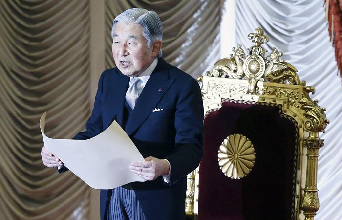 Император Японии намекает наотречение отвласти