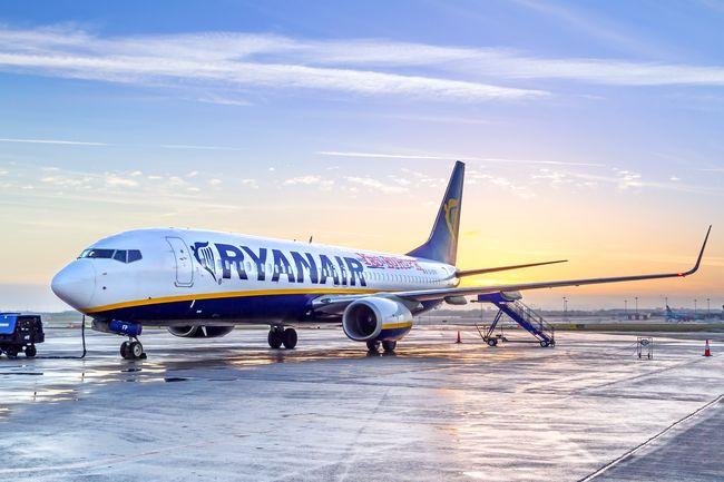 Сноября Ryanair уменьшает объем ручной клади