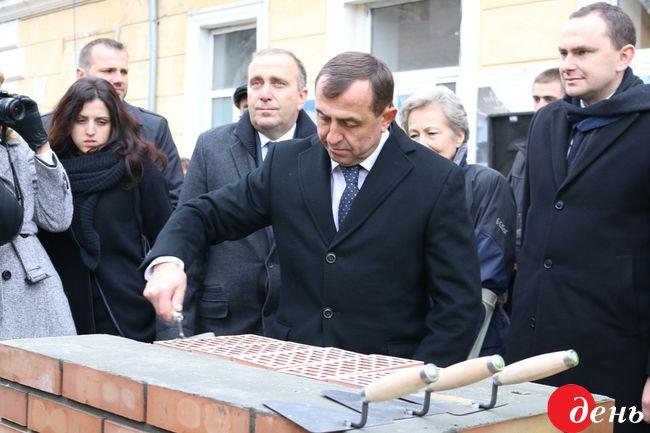 УЛьвові почалося будівництво Польського дому