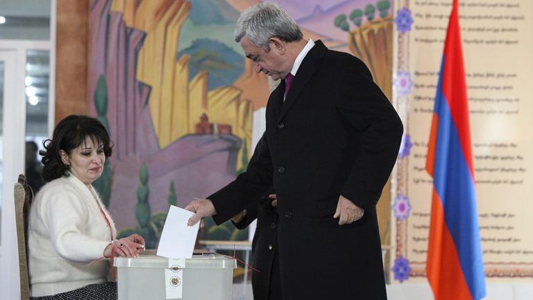 ВАрмении проходит референдум поконституционным изменениям