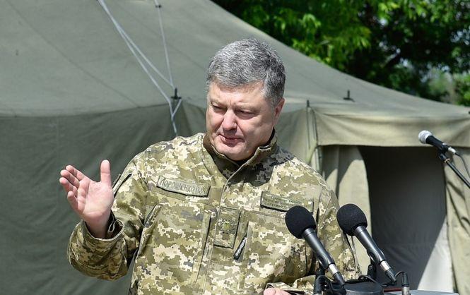 Президент анонсував виплату одноразової бойової премії бійцям АТО