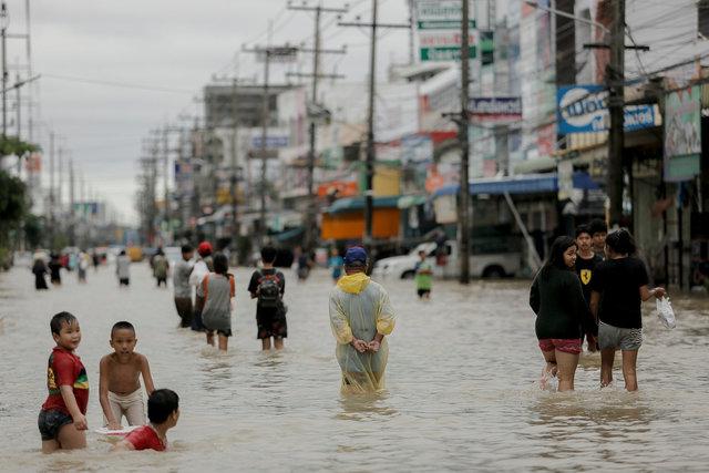 ВТаиланде в итоге наводнения погибли 12 человек