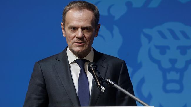 Руководитель  Евросовета Дональд Туск переизбран на 2-ой  срок