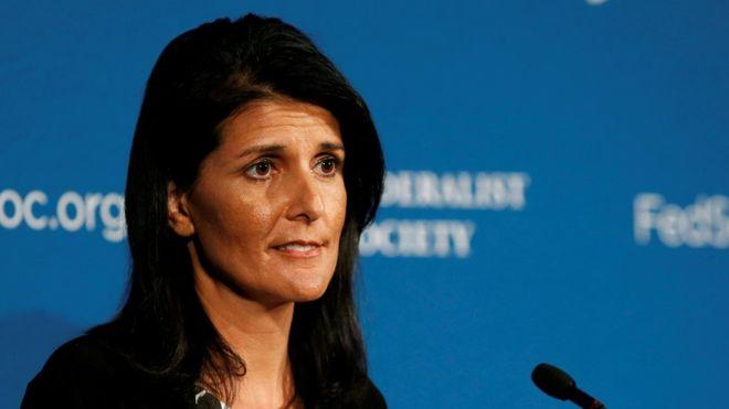 Хейли: РФ , очевидно, невывезла все химоружие изСирии