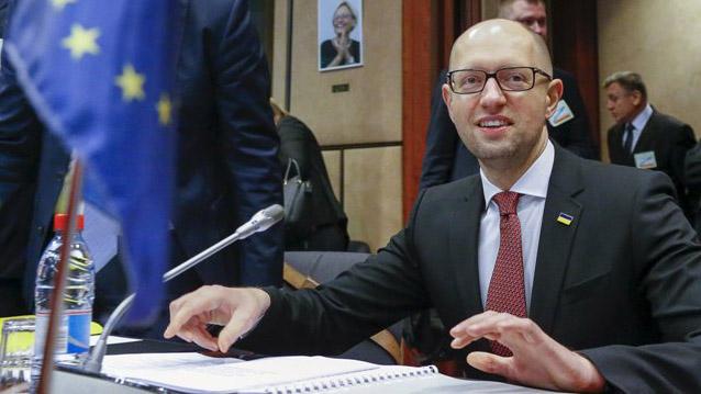 А.Яценюк уБрюсселі закликав ЄС заблокувати проект «Північний потік-2»