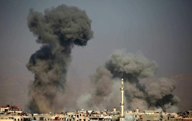 Очолювана США коаліція запобігла нападу союзних сил Асада вСирії