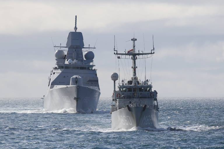 Три кораблі РФбули виявлені неподалік територіальних вод Латвії