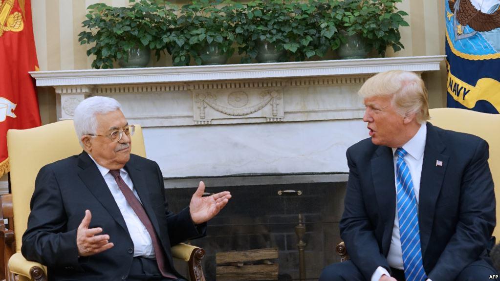Трамп предложил руководителям Палестины иИзраиля заключить мир вСША