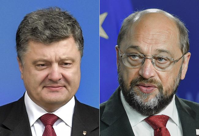 Шульц уверил, что делает все возможное для быстрейшего представления Украине безвизового режима