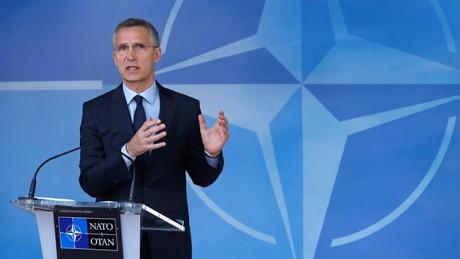 Столтенберг: Вступив вкоалицию, НАТО небудет воевать стеррористами