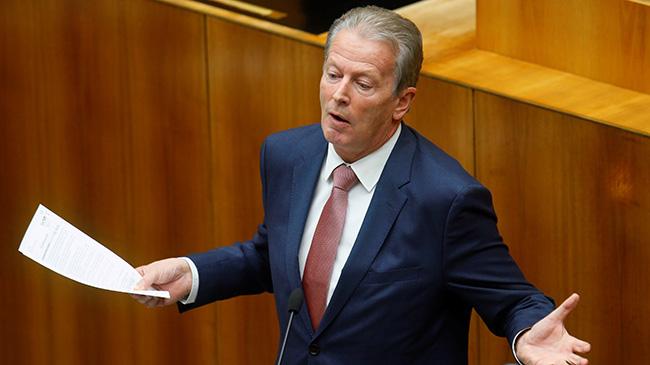 Руководитель правящей партии Австрии ушел вотставку